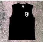 Emblem - Sleeveless Tee (Black)