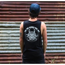 TILL THE WHEELS FALL OFF - Band Cut singlet (Black) (SOLD OUT)