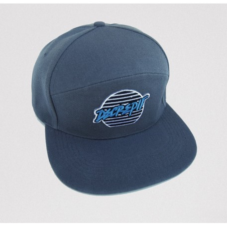 """""""Lines"""" Patch Snapback Hat (GREY)"""